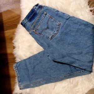 """Vintage orange tab high waist custom levis 26"""""""